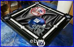 NY Yankees and NY Giants Domino Table by Domino Tables by Art