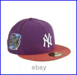 New Era 59fifty New York Yankees 2001 World Series Patch Uv Hat Sz 7