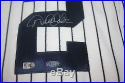 New York Yankees #2 Derek Jeter Signed 1999 Majestic Jersey Mlb & Steiner Cert