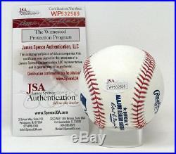 New York Yankees Aaron Judge Autographed Major League Game Baseball JSA Auth
