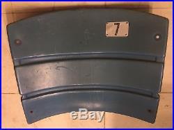 New York Yankees Game Used Worn Seat Seatback #7 Mickey Mantle Old Stadium COA