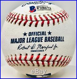 New York Yankees Gleyber Torres Autographed MLB Baseball Beckett BAS