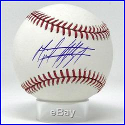 New York Yankees Miguel Andujar Autographed Major League Game Baseball JSA Auth