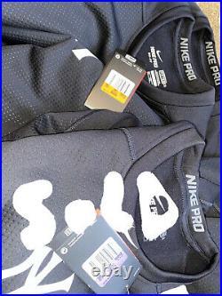 New York Yankees Nike Pro Hyperwarm Dri Fit Max Fitted Sweatshirt S M XL XXL