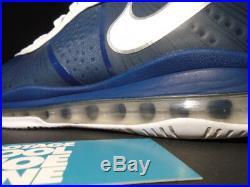 Nike Lebron VIII 8 V/2 New York Yankees Navy Blue White Silver 429676-400 9.5