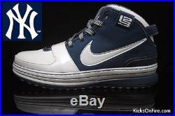 Nike Zoom LeBron 6 VI New York Yankees Size 10.5. 346526-111 what the mvp cavs