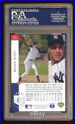 Psa 9 Derek Jeter 1993 Sp Rookie Rc Foil Sp Amazing Looking Psa 10 Quality