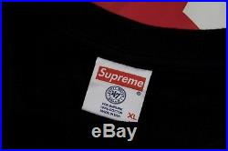 REDSOX LOGO ON SS15 Supreme X 47 BRAND box logo New York Yankees T-SHIRT size XL