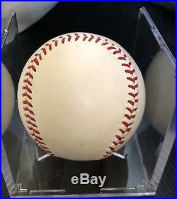 Roger Maris Single Signed Baseball- Psa Loa