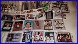 SPORTS CARD COLLECTION autos jerseys 1/1 vintage rc mickey mantle nolan ryan