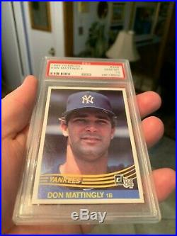 Super Tough Awesome Psa 10 Don Mattingly Iconic 1984 Rookie Donruss Drying Up