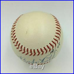 The Finest Babe Ruth Single Signed American League Baseball PSA/DNA MINT 8