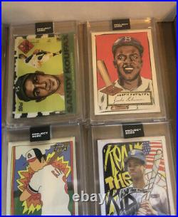Topps Project 2020 Complete Set 1-400 all cards In Hand Ermsy Trout With Boxes