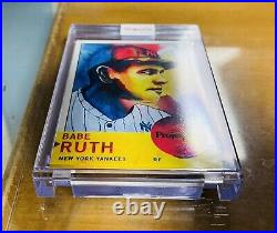 Topps Project 70 Card 115 1963 Babe Ruth by Brittney Palmer Short Print A+Seller