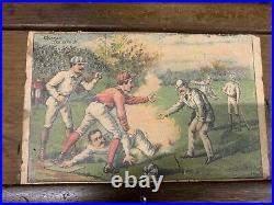 Vintage 1888 Baseball Marble Pinball Parlor Bar Saloon Store Coin-Operated Game