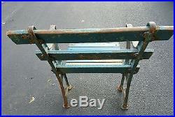Vintage 1920s Yankee Stadium Original Grandstand Wood Seat Rare Ruth Gehrig