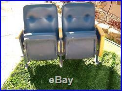Vintage Authentic New York Yankees Stadium Game Used Pair Luxury Suit Seats Wow