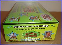 Vintage Cards Treasures Baseball Box! Find The 1952 Topps Pack! Mantle, Brett
