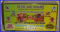 Vintage Cards Treasures Baseball Box! Find the 1952 Topps pack! Mantle, Ryan