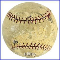 Yankees Babe Ruth Authentic Signed Baseball Autographed PSA/DNA #X04919