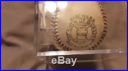 Yankees Babe Ruth & Lou Gehrig Signed 1926 Ban Johnson Oal Baseball with COA