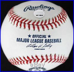 Yankees Mariano Rivera Signed Authentic OML Farewell Retirement Baseball Steiner